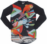 How to Fish : Reflective Men's Long Sleeve Jersey