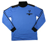 Men's Turtleneck Jersey : Blue & Black