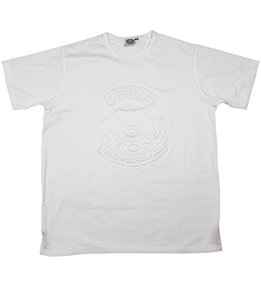 Embossed Logo T-Shirt : White