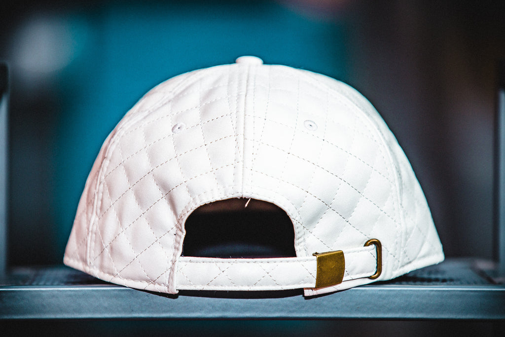 Quilted Men's Strapback Hat