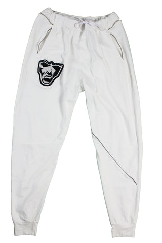 Varsity Big Face Men's Sweatsuit Joggers : White, Grey, & Navy