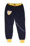 Varsity Big Face Men's Sweatsuit Joggers : Navy & Yellow