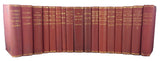 Collected Works of Charles Darwin in the original Appleton brick red cloth, 14 titles in 17 volumes