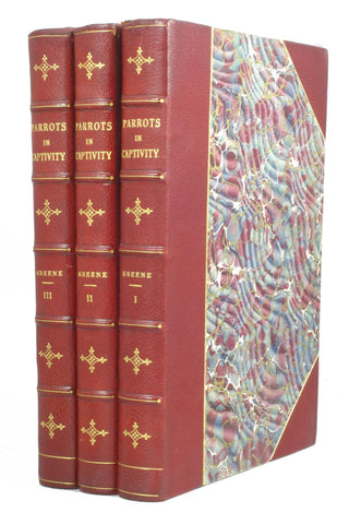 Parrots in Captivity, 3 volumes, complete