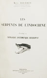 Les Serpents de l'Indochine, 2 volumes, complete