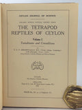 The Tetrapod Reptiles of Ceylon, Volume I: Testudinates and Crocodilians