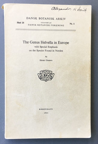 The genus Helvella in Europe with special emphasis on the species found in Norden