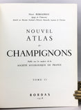 Nouvel Atlas des Champignons, in four volumes