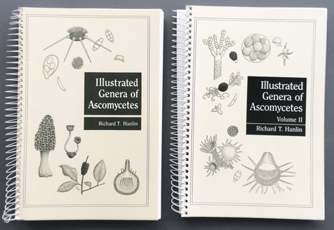 Illustrated Genera of Ascomycetes in two volumes, each spiral bound