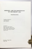 Geology and Palaeontology of Southeast Asia, Volumes 1-8 (1964-1970)