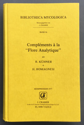 "Complements a la ""Flore Analytique"" (contains nine chapters)"