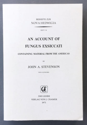 An Account of Fungus exsiccati containing material from the Americas