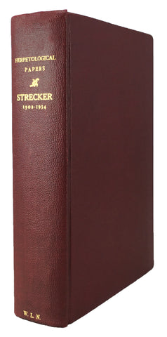 Collected Herpetological Papers of John K. Strecker, 1902-1927