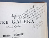 Le genre Galera (Fries) Quélet (warmly inscribed by the author)
