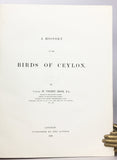 A History of the Birds of Ceylon, in three parts