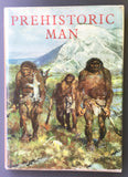 Prehistoric Man (with fine color illustrations from paintings by Zdenek Burian)