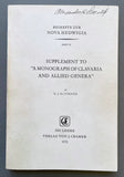 "Supplement to ""A Monograph of Clavaria and Allied Genera"""