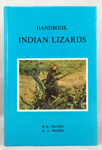Handbook Indian Lizards