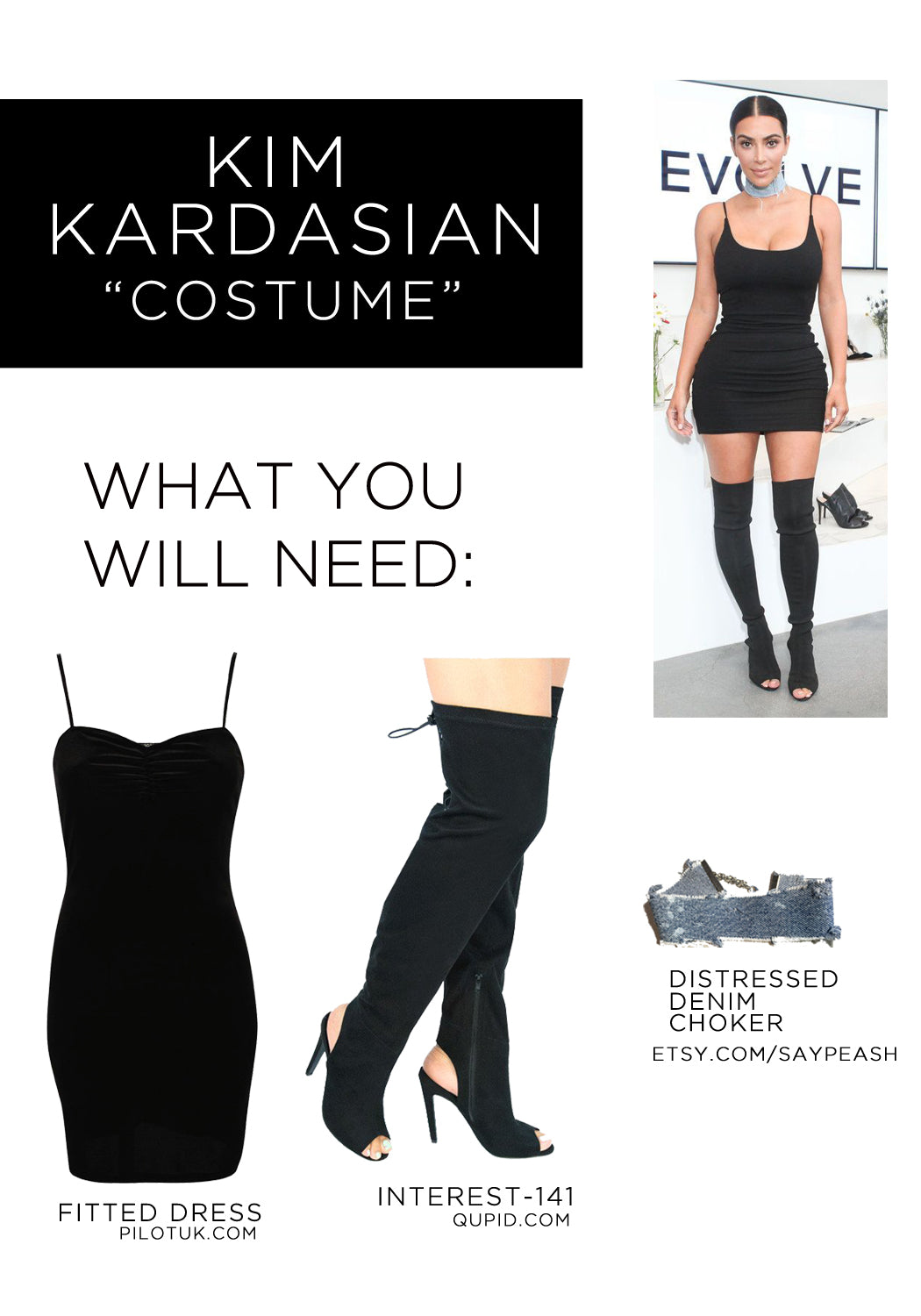 one of the easiest no pun intended costumes that you may be interested in is the one and only kim kardashian its simple because most of us already own a - Halloween Costumes You Already Own