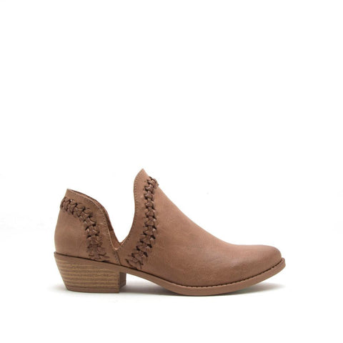 Sochi-154 Light Brown Side Cut Bootie
