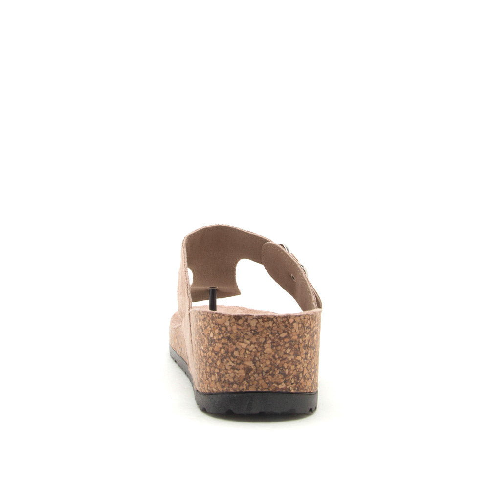 Ahana-03 Taupe Thong Sandals