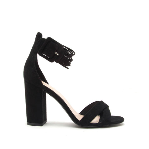 Alona-46 Black X Band Sandal