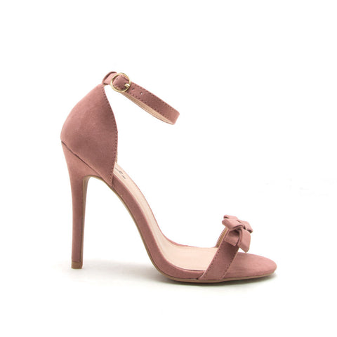 Ara-245 Mauve Bow One Band Sandal