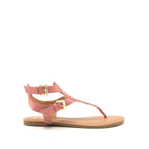 Archer-541 Dusty Rose Gladiator Sandals