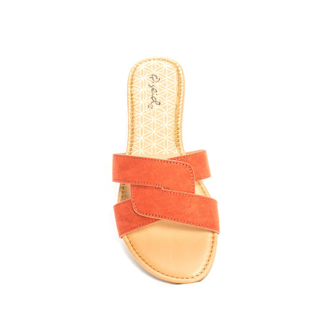 Archer-617X Brick Single Band Sandals