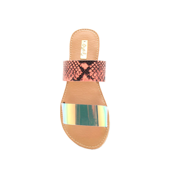 Athena-1533A Iridescent Double Band Slides