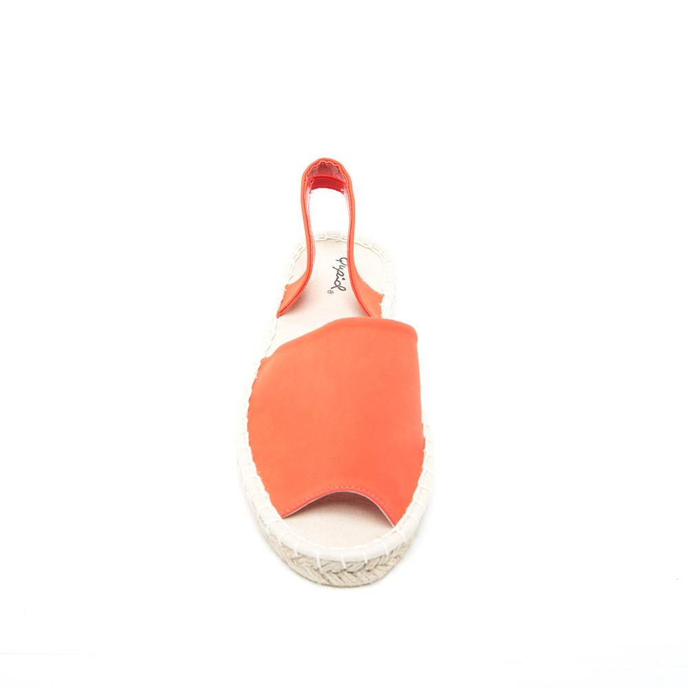 Qupid MCKAY-01 Tangerine Top View