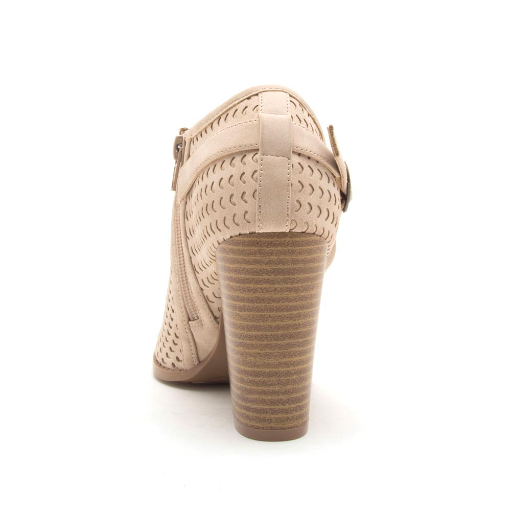 Barnes-260AX Stone Perforated Bootie