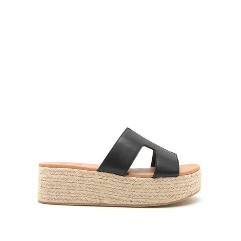 Beachie-02 Black One Band Wedges