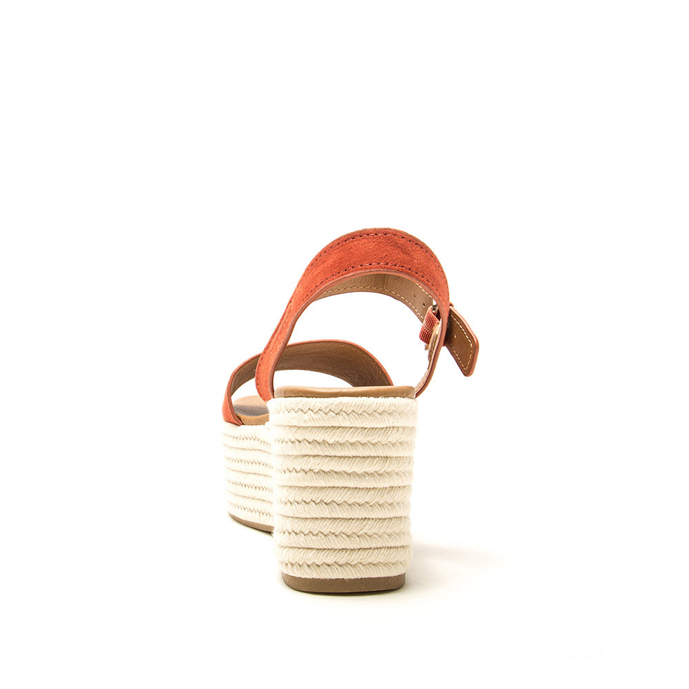 Bigbang-56 Brick Single Band Wedge Sandals