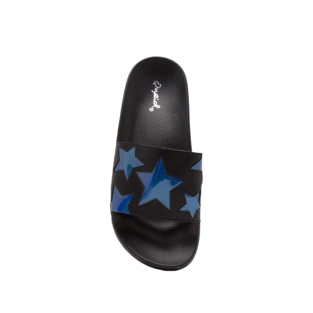 Booboo-90A Black Star Slides