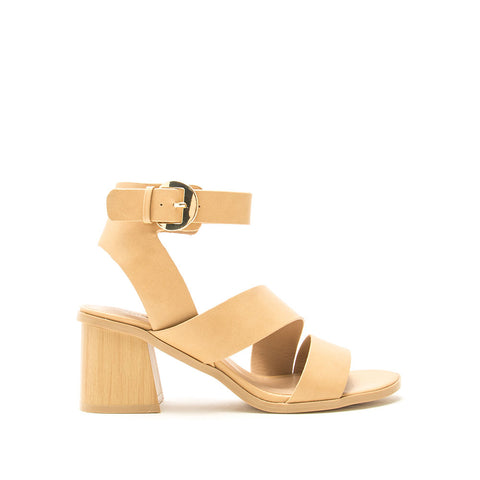 Bucky-20A Toffee Strappy Heels