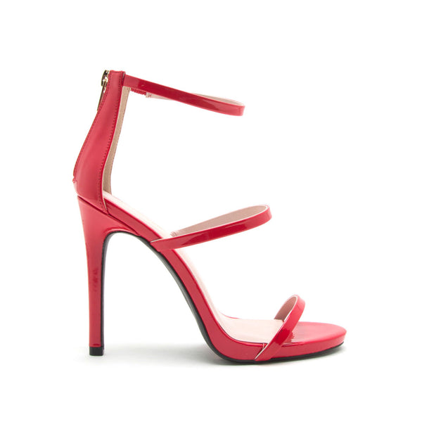 Cece-16X Red Triple Band Heels