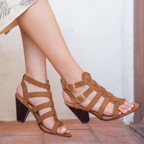 Chamber-22 Maple Strappy Sandal