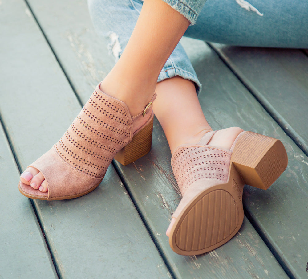 Core-104 Warm Taupe Slingback Sandals