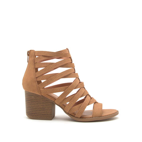 Core-112 Tan Strappy Sandal