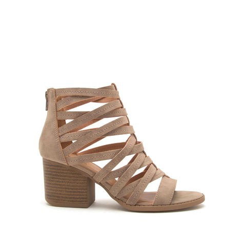 Core-112 Taupe Strappy Sandal