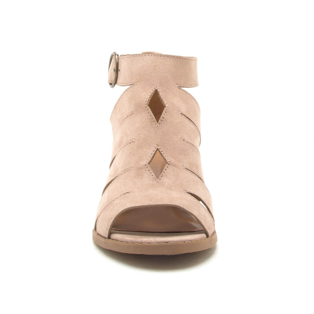 Core-116 Taupe Strappy Sandals