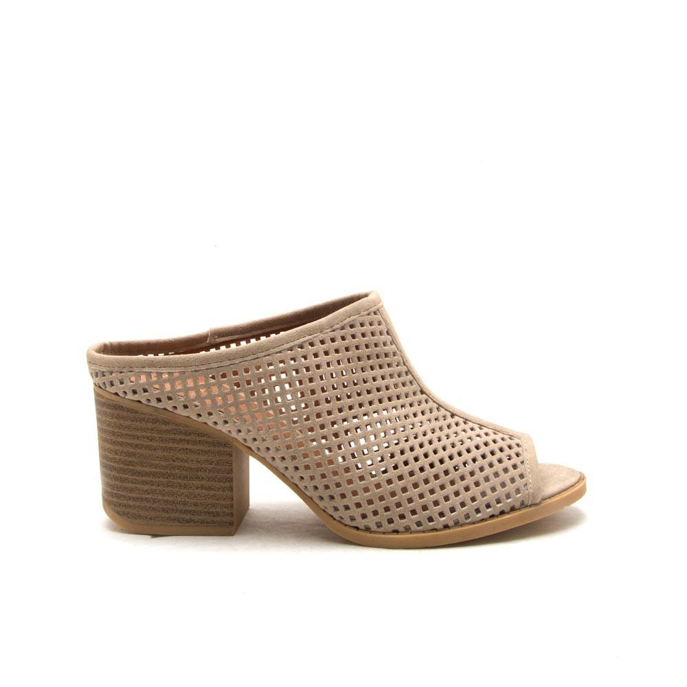 CORE-33 Stone Perforated Mule