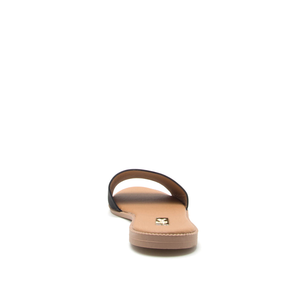 Desmond-01 Black One Band Sandal