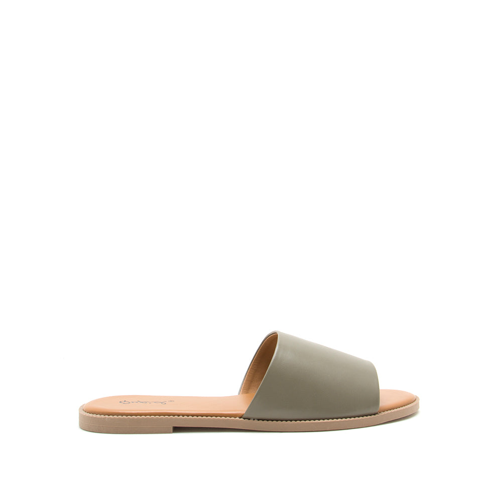 Desmond-50 Khaki One Band Slides