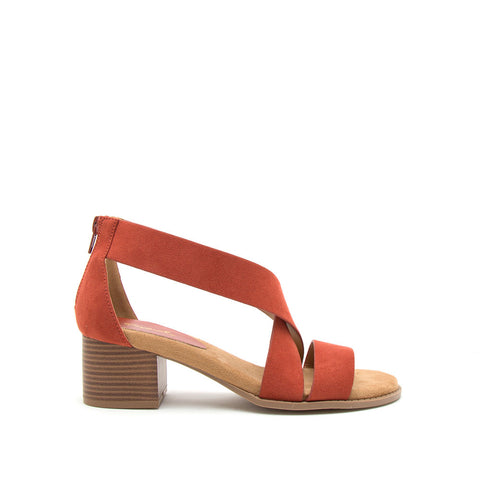 Doria-01E Brick X Band One Band Sandal
