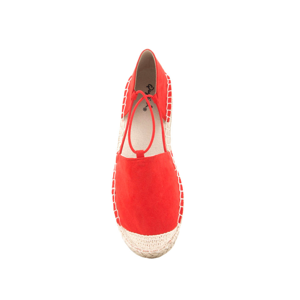 Elmore-18A Blood Orange Open Shank Ballerina