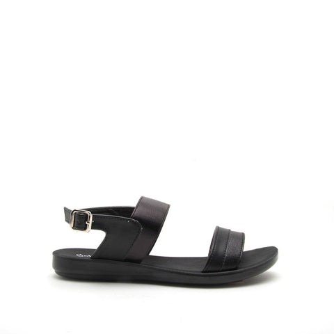 Eyecatch-04 Black 2 Band Sandal