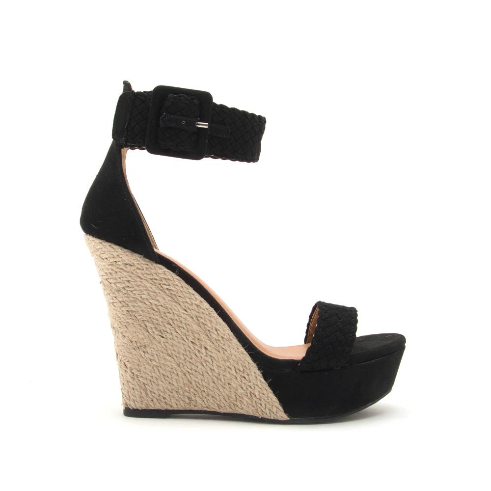 Flower-17X Black Single Band Wedges