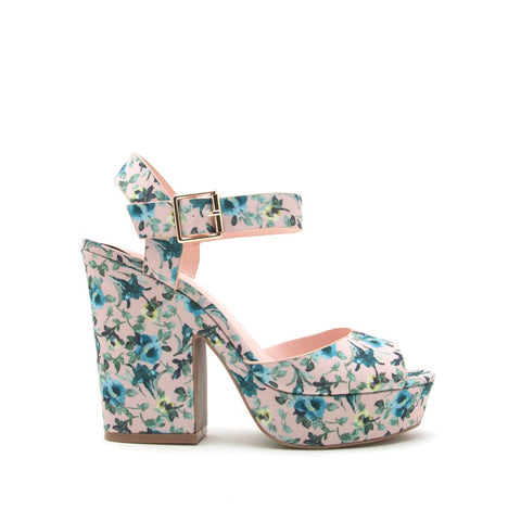 Gavin-01 Light Blush Multi Ankle Strap Sandal
